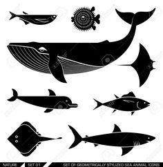 whale vector - Hledat Googlem