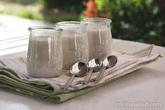Hacer tus propios yogures en casa es tan fácil...y más saludable. www.cocinasalud.com
