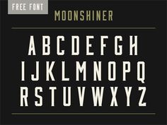 "free font- ""I can visualize it on the menus for the new pub you're opening. Where you sell locally-sourced free range chicken and craft beers, and all your customers wear beards and tattoos and skinny jeans."""