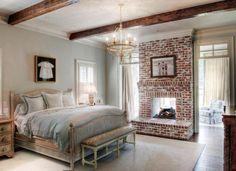 12 idées de déco pour ceux qui ont une cheminée dans la chambre