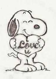 Wisdom from the Peanuts Cartoon Characters - Melanie Redd Disney Drawings Sketches, Cute Disney Drawings, Pencil Art Drawings, Cool Art Drawings, Cartoon Drawings, Easy Drawings, Drawing Sketches, Mickey Mouse Drawings, Cute Drawings Of Love