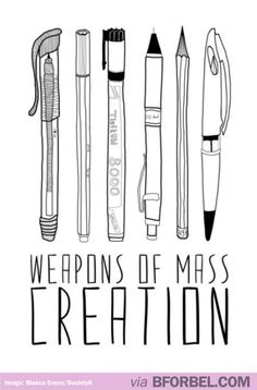 The Pen Is Mightier Than The Sword… Unless your pen also happens to be a sword