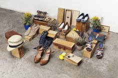 Springfield - Spring 2011 lookbook #shoes