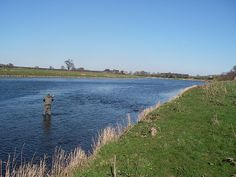 fly fishing the river Tweed, Scotland