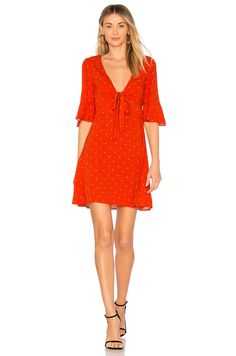 570e98b0cd Free People All Yours Mini Dress in Red Combo