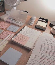 New study desk organization student note Ideas