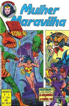Mulher-Maravilha (Lançamento) 6ª Série - n° 4/Ebal | Guia dos Quadrinhos