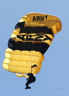 Army Golden Knight