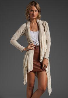 Goddis : nolan asymmetrical wrap sweater
