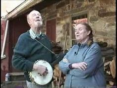 Jean visited p Pete Seeger and they got together and sang a few songs. Some of this material is on the DVD MOUNTAIN BORN the jean ritchie story available at . Folk Music Artists, 40s Music, Dulcimer Music, Mountain Dulcimer, Pete Seeger, Bluegrass Music, Folk Dance, Music Activities, Music Classroom