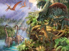Самые распространенные мифы о динозаврах, в которые не стоит верить