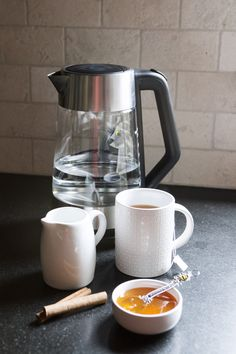 @OXO's BPA-free glass electric kettle boils water quicker than anything I've used in the past -- and it's pretty to watch.