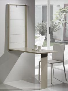 7 mejores imágenes de mesa abatible pared | Desk, Woodworking y ...