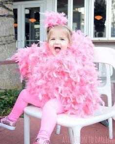 Last minute easy diy pink flamingo halloween costume perfect baby last minute easy diy pink flamingo halloween costume perfect baby costume or toddler costume solutioingenieria Gallery