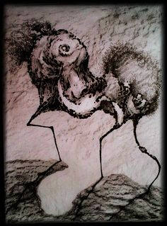 ☻&☺, my drawings, pictures black and white, abstract art, DREAMart