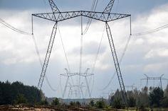 750 KV transmission line