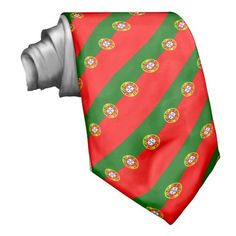 Shop Portugal flag Tie created by maxiharmony. Portugal Flag, Custom Ties, Unique Image, Portuguese, Night Out, Pride, Vibrant, Shirt Dress, Stylish