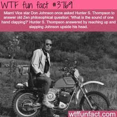 What is the sound of one hand clapping? - WTF fun facts