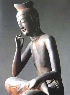 Google 画像検索結果: http://bell.jp/pancho/travel/taisi-siseki/temple/images/miroku01.jpg