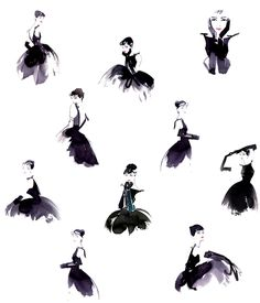 Audrey Hepburn - the LBD