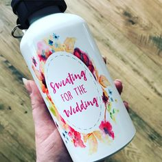 A personal favourite from my Etsy shop https://www.etsy.com/uk/listing/605562061/sweating-for-the-wedding-personalised