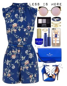 """Less is More"" by itsybitsy62 ❤ liked on Polyvore featuring Oasis, Steve Madden, Casetify, Kate Spade, NYX, McQ by Alexander McQueen, MAC Cosmetics, Forever 21, Accessorize and Fendi"