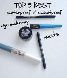 Sweat-proof roller derby makeup!~!    Top 5 Waterproof/ Sweatproof Eye Make-Up Musts