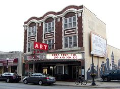 The Art Theater on Church in Champaign, Illinois.