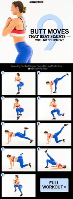 9 Butt Exercises That Really Work - Best Butt and Glutes Workouts