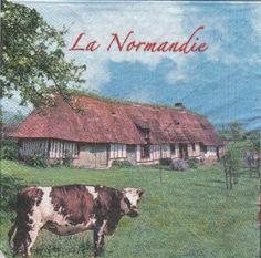 Serviette papier La Normandie 33 cm X 33 cm 2 plis http://fournitures-loisirs.les-creatifs.com/serviettes.php?refer=La-Normandie Pour la décoration de table