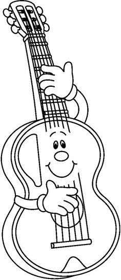 Imagenes de la marimba para colorear - Imagui | educacion musical ...