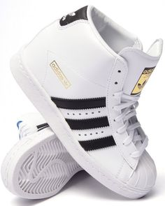 Love this Adidas Superstar Up Sneakers featuring a hidden and removable inner wedge :)