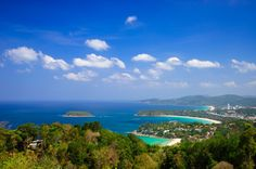 Karon Viewpoint  #Karon #Veiwpoint is also known as #Three #Beach #Viewpoint as once you reach its peak perched in the south of #Kata #Beach, in front of you is the breathtaking #view of #beautiful Kata Noi, Kata and #Karon #beaches as well as the deep-blue #Andaman #sea.