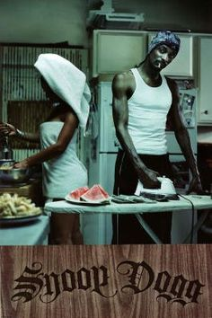 Snoop Dogg next to some watermelon.