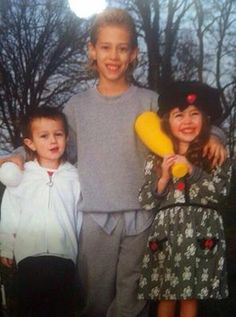 Miley, Trace and Braison<3