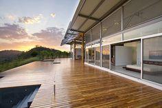 Diseño de terraza de casa de campo
