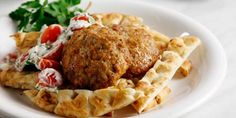 Greek Recipes, Meat Recipes, Types Of Food, Poultry, Baked Potato, Tacos, Mexican, Beef, Chicken