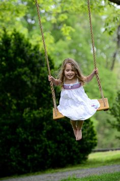 Happiness is swinging on a spring day! Handcrafted Wood Tree Swing: Single by VintageSwings on Etsy Portrait Photography Poses, Children Photography, Free Photography, Swing Photography, Photography Classes, Portrait Poses, Photography Awards, Product Photography, Cute Kids