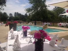 Luncheon by the pool AEM