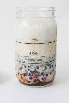 Veggies Don't Bite official overnight oats jar
