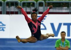 Simone Biles is the best gymnast in the world, and it's not even ...