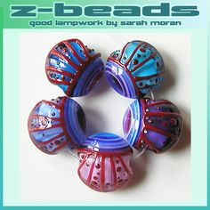 I love finding new shapes and designs, and I LOVE Z Beads lampwork beads! MonaRAEbeads.etsy.com