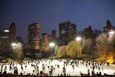 Our Favorite Christmas-y Things to See and Do in New York City Winter Art, Summer Winter, Countryside Wallpaper, New York City Christmas, Skate Art, Serendipity, Ice Skating, Central Park, Love Story