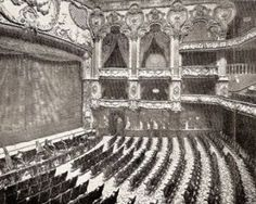 Lyceum Theatre, interior, London. Sir Henry Irving's theatre, managed by Bram Stoker.  http://www.bramstokerestate.com/Bram-Stoker-By-and-About-Bram-Stoker-Himself-Abraham-Stoker-Jr-Dracula-author-Dublin-London.html