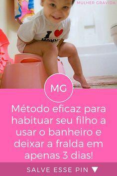 Deixar fralda | Método eficaz para habituar seu filho a usar o banheiro e deixar a fralda em apenas 3 dias! | Método eficaz para habituar seu filho a usar o banheiro e deixar a fralda em apenas 3 dias!
