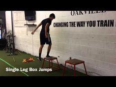 1 leg plyo Volleyball Workouts, Box Jumps, Legs, Youtube, Youtubers, Bridge, Youtube Movies, Volleyball Drills