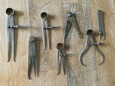 Excited to share this item from my shop: 1885 Antique collection Starrett caliper tools / tool display Antique Tools, Old Tools, Art Antique, Machinist Tool Box, Hannah And Her Sisters, Vintage School, Decoration, Display, Antiques