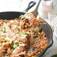 Dinner doesn't get any easier than this recipe for Italian One-Pot Chicken and Rice