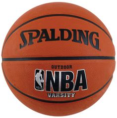 """Spalding NBA Youth Outdoor Basketball - Youth Size 5 (27.5""""). Spalding Sport NBA Youth Basketball. Features NBA Graphics. Designed to withstand the street game."""