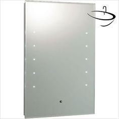 Hudson Reed Mirrors - Alcina LED Touch Sensor Mirror